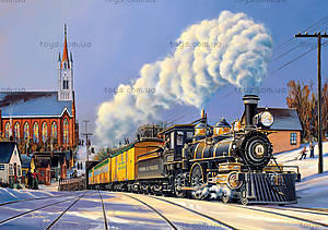 Пазл Castorland на 500 деталей «Поезд отправляется», В-51885