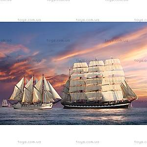 Пазл Castorland на 500 деталей «Корабли на закате», В-51892