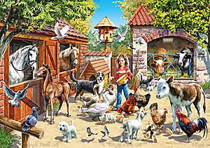 Пазл Castorland на 500 деталей «Ферма», В-51908