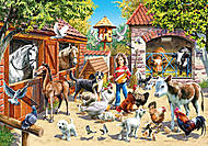 Пазл Castorland на 500 деталей «Ферма», В-51908, отзывы