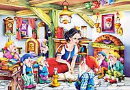 Пазл Castorland на 500 деталей «Белоснежка и семь гномов», В-51960, купить