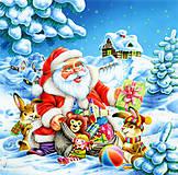 Пазл Castorland на 500 деталей «Дед Мороз и Новый Год», В-51977, купить