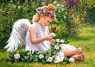 Пазл Castorland на 500 деталей «Ангел в саду», В-51991, купить