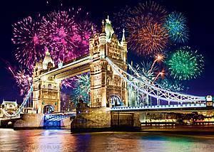 Пазл Castorland на 500 деталей «Тауэрский мост. Лондон, Англия», В-52028