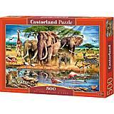 Пазл Castorland на 500 деталей «У кромки воды», В-52035, купить