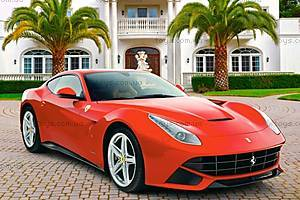 Пазл Castorland на 500 деталей «Ferrari», В-52080, купить