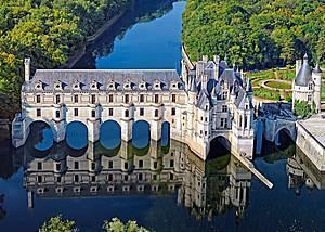 Пазл Castorland на 500 деталей «Замок Шенонсо. Франция», В-52103