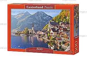 Пазл Castorland на 500 деталей «Гальштат. Австрия», В-52189, купить