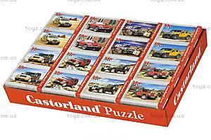 Пазл Castorland на 54 детали «Машины», А-08521-М