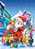 Пазл Castorland на 60 деталей «Новый год», 717, отзывы