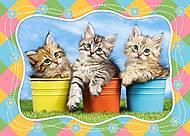 Пазл Castorland на 60 деталей «Три котенка», 762, отзывы