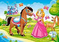 Пазл Castorland на 60 деталей «Принцесса и её друг», 816