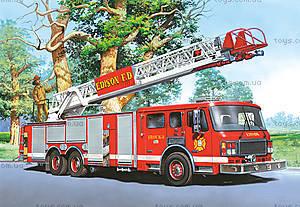 Пазл Castorland на 60 деталей «Пожарная машина», В-06359