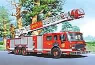 Пазл Castorland на 60 деталей «Пожарная машина», В-06359, фото