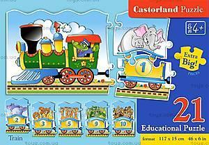 Пазлы Castorland Education «Паравоз», 135, купить