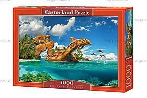 Пазлы Castorland на 1000 деталей «Дельфиний рай», С-103508, купить