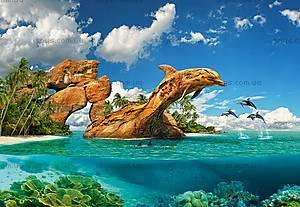 Пазлы Castorland на 1000 деталей «Дельфиний рай», С-103508