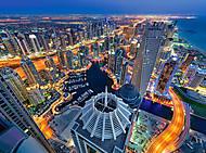 Пазлы Castorland на 1000 деталей «Дубай», С-300457, фото