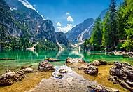 Пазлы Castorland на 1000 деталей «Озеро в горах», С-103416, отзывы