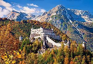 Пазл Castorland на 1000 деталей «Замок Хоэнверфен. Австрия», С-103454