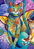 Пазлы Castorland на 1500 деталей «Кошачья фиеста», С-151448, фото