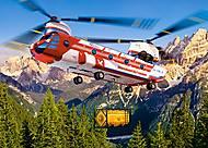 Пазлы Castorland на 180 деталей «Воздушный транспорт», В-018239, фото