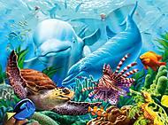 Пазлы Castorland на 2000 деталей «Жизнь океана», С-200627