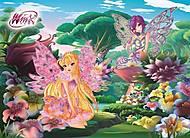 Пазлы Castorland на 30 деталей «Winx. Цветочная поляна», В-РU03351, купить