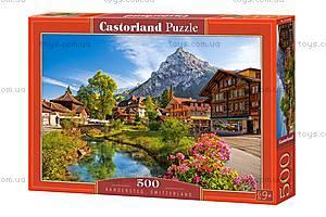 Пазлы Castorland на 500 деталей «Кандерштег, Швейцария», В-52363, купить