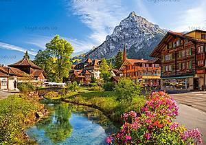 Пазлы Castorland на 500 деталей «Кандерштег, Швейцария», В-52363