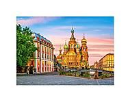 Пазлы Castorland на 500 деталей «Храм в Санкт-Петербурге», В-52257, фото