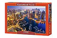 Пазл Castorland на 1000 деталей «Дубай ночью», С-103256