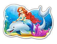 Пазлы Castorland «Русалочка с дельфином», В-015160