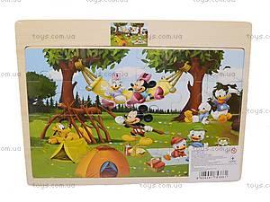 Пазлы деревянные «Микки Маус», 1809A23, купить