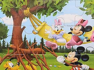 Пазлы деревянные «Микки Маус», 1809A23, фото