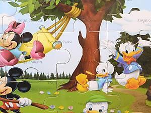 Пазлы деревянные «Микки Маус», 1809A23, отзывы