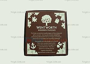 Пазлы деревянные резные «100 исчезающих видов животных», 40 частей, 602713, купить