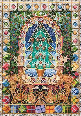 Пазлы деревянные резные «Рождество», 40 частей, 650101
