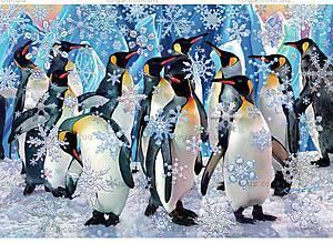 Пазлы деревянные резные «Снежные хлопья», 40 частей, 520713