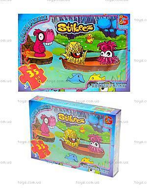 Пазлы детские «Stikeez», ST006