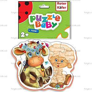 Пазлы для детей  Baby puzzles Cow-Sheep, RK1101-01