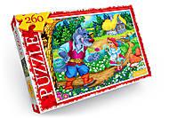 Пазлы для детей «Красная Шапочка» 260 эл, C260-12-01,02, отзывы