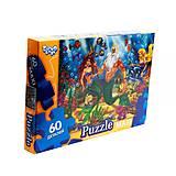 Пазлы для детей Maxi «Русалочка» 60 элементов, Mx60-08-12, игрушки