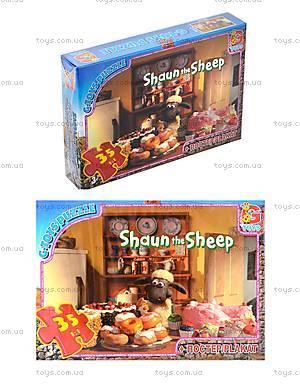 Пазлы для детей серии «Баранчик Шон», 35 элементов, SS408796