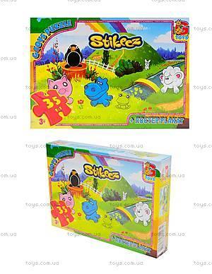 Пазлы для детей «Stikeez», ST005