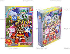 Пазлы для детей из серии «Робокар Поли», RR067434RR067430-70