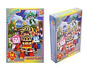 Пазлы для детей из серии «Робокар Поли», RR067434RR067430-70, купить