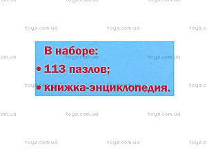 Пазлы-энциклопедия «Человек», Л388001Р7128, отзывы