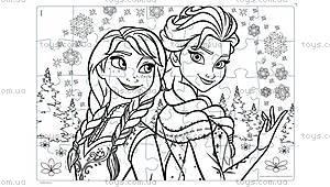 Пазлы серии Frozen «Олаф и друзья», 46850, купить