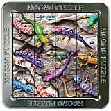Пазлы «Гекконы» магнитные 3D, 16 элементов, 21195, доставка